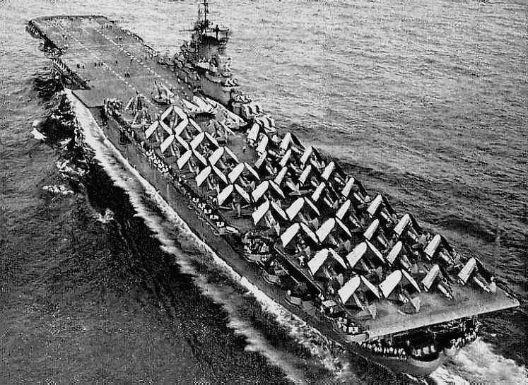 Portaaviones americanos en Imagenes WWII